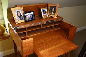 Secretarys Desk Dovetail Joined Custom Desk
