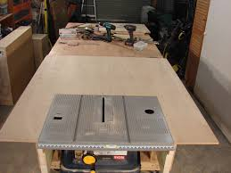 how to build a table saw workstation 63 build a table saw extension part 1 by roger clyde webb youtube