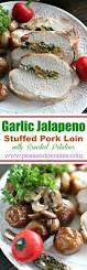 garlic stuffed pork loin roast recipe food fighter
