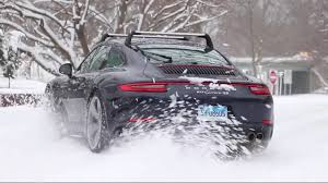 porsche 911 winter taking a porsche 991 2 4s for a spin in the the drive