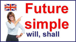 future simple tense will and shall english grammar youtube