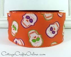 find halloween ribbons and craf supplies cottagecraftsonline com