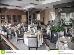 dining room with elegant table settings stock image image 33394073