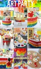 birthday party for kids artist party happy 5th birthday rowan via jenloveskev