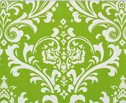 chartreuse green damask chair sash napkin set fabric linens lime
