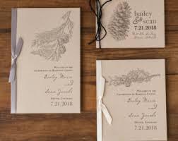 Wedding Program Cover Wording All White Gray And White Wedding Ceremony Booklet Programs