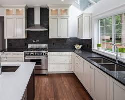 kitchen charming black and white kitchen backsplash black and