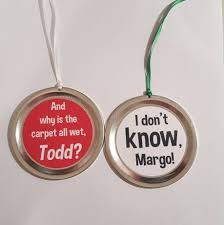 Christmas Vacation 2 Ornament Set Funny Movie Quotes
