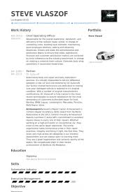 exles of resumes for management chief operating officer resume sles visualcv resume sles