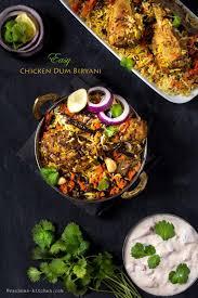 biryani cuisine hyderabadi chicken biryani recipe indian chicken biryani recipe
