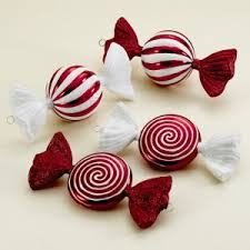 candy ornaments christmas decorations with candy christmas2017