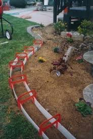 Border Ideas For Gardens 14 Best Landscaping Images On Pinterest Gardening Garden Edging