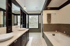 modern master bathroom ideas modern master bathroom with built in bookshelf by home