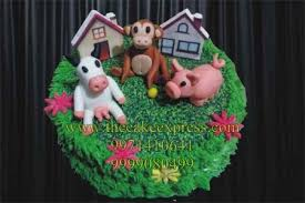 jungle theme cake jungle theme cake for kids birthday in noida animal theme