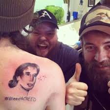 Scott Stapp Meme - so my good friend just got bleed4creed permanently tattooed on