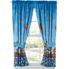 Winnie The Pooh Nursery Curtains by Toddler Window Treatments Walmart Com