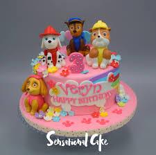 Cupcakes Para Baby Shower Ni Sin Fondant The Sensational Cakes Paw Patrol Rainbow Flower Birthday Theme