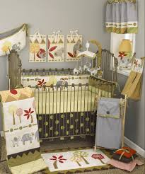 green crib bedding new born baby bed set ladybug baby bedding