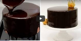 How To Make Decorative Chocolate How To Make Chocolate Mirror Glaze Shiny Chocolate Glaze Recipe