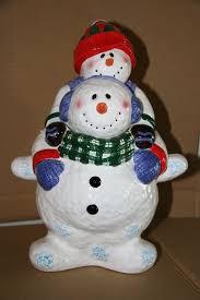 37 best snowmen cookie jars images on pinterest snowman cookies