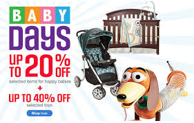 sears canada thanksgiving baby days get up to 20 selected