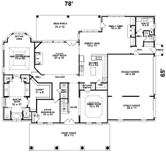 plantation style floor plans plantation house plan 4 bedrooms 3 bath 3792 sq ft plan 6 1173