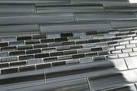 Black Glass Backsplash by Black Glass Tile And X Glass Tile Kitchen Bathroom Tile Black Gray
