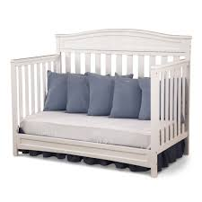cribs that convert to toddler bed delta children emery 4 in 1 crib in white free shipping 214 99