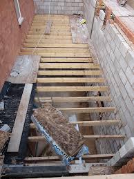 Extending Floor Joists Ourcozycatcottage Com House Floor Joists Construction