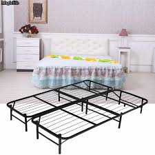 Platform Metal Bed Frame Mattress Foundation Metal Bed Frame Mattress Foundation Adjustable Cal King