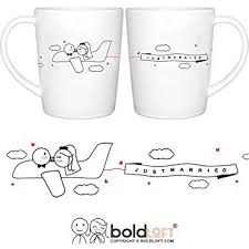 his and wedding gifts boldloft just married his hers wedding