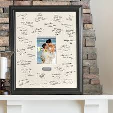 personalized wedding autograph frame wedding wishes signature autograph frame with engraved plate