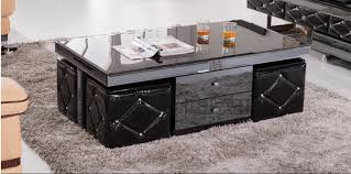 Coffee Table Price Exw Price Wooden Glass Black Coffee Table Glass Tea Table Wooden