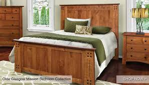 Mission Bedroom Furniture Rochester Ny by Hardwood Furniture American Made Custom Mission Furniture