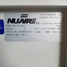 nuaire autoflow nu 8700 water jacket co2 incubator dual stack