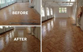sanding and floor varnishing service for schools