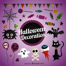 Halloween Decoration Halloween Decoration Pack Vector Free Download