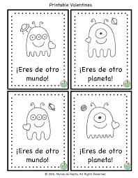 mundo pepita printable spanish valentines for kids