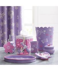 Lavender Bathroom Set Kassatex Kassa Kids Butterfly Bath Accessories Collection