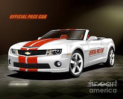 2010 camaro pace car for sale 2010 camaro indianapolis 500 pace car convertible drawing by