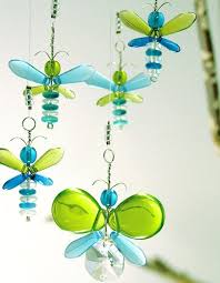 blue butterfly mobile baby boy hanging mobile green decor