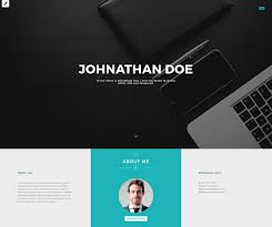 Bootstrap Resume Template Flowing Free Resume Template Interface Hunt