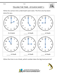 telling time clock worksheets to health and safety consultant