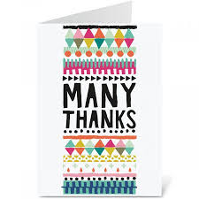 many thanks thank you note cards current catalog