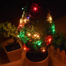 copper christmas tree christmas lights decoration
