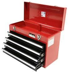professional tool chests and cabinets halfords professional tool chest red 4 drawer metal portable