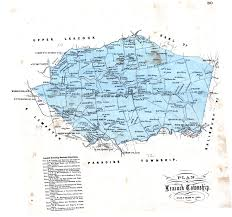 Map Of Hershey Pennsylvania by Early Landowners Of Lancaster County