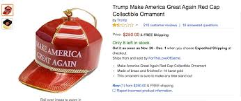 amazon black friday make 2016 amazon is selling a make america great again ornament and the