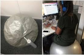 dim up au bureau voici ce que ça fait de s asseoir sur swiss au bureau