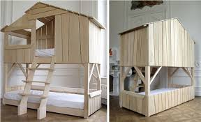 tree house loft bed with slide best house design tree house loft